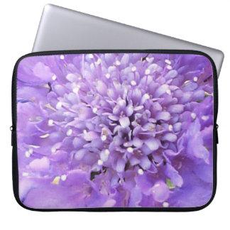 Purple Flower Laptop Sleeve
