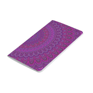 Purple flower mandala journal