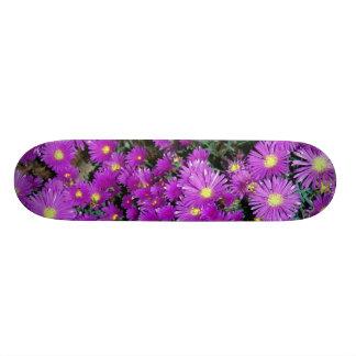 Purple Flower Patch Skateboards