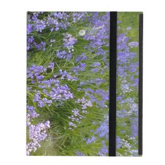 Purple Flower plant Cases For iPad