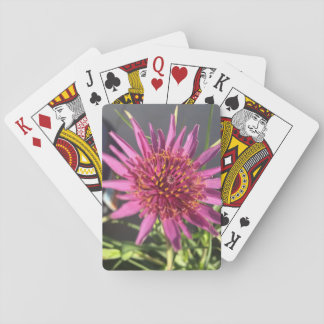 Purple Flower Playing Cards - Frost Hill Farms