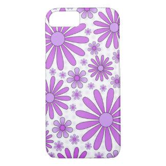 Purple Flower Power Phone Case