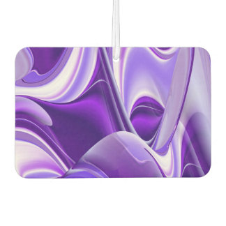 Purple Flower Rainbow Dreams Car Air Freshener