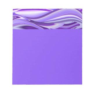 Purple Flower Rainbow Dreams Notepad