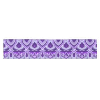 Purple Flower Rainbow Dreams Short Table Runner