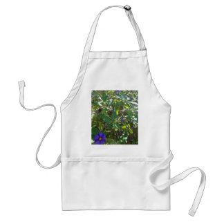 Purple Flowering Bush Standard Apron