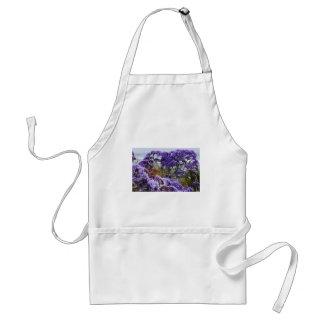 Purple Flowers Aprons