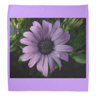 Purple Flowers Blossoms Pink Personalize Art Do-rags