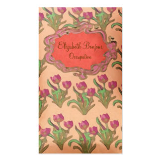 Purple Flowers ~ Business Cards
