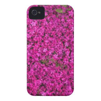 Purple Flowers Case-Mate iPhone 4 Cases