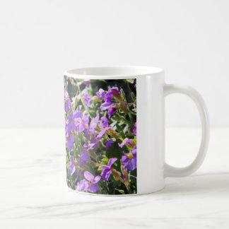 Purple flowers in bloom during Spring Mugs