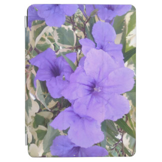 PURPLE FLOWERS iPad AIR COVER