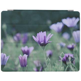 Purple Flowers iPad Cover