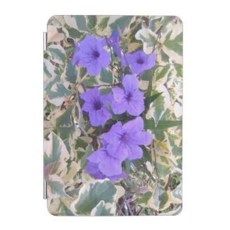 PURPLE FLOWERS iPad MINI COVER