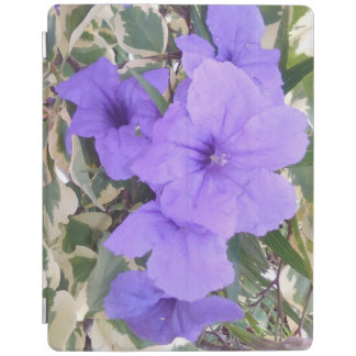 PURPLE FLOWERS iPad SMART COVER