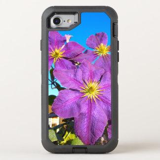Purple Flowers iPhone 7 Case
