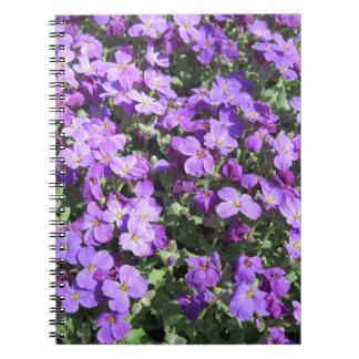 Purple Flowers Notebook