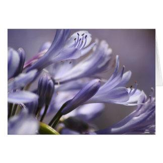 Purple Flowers Notecard
