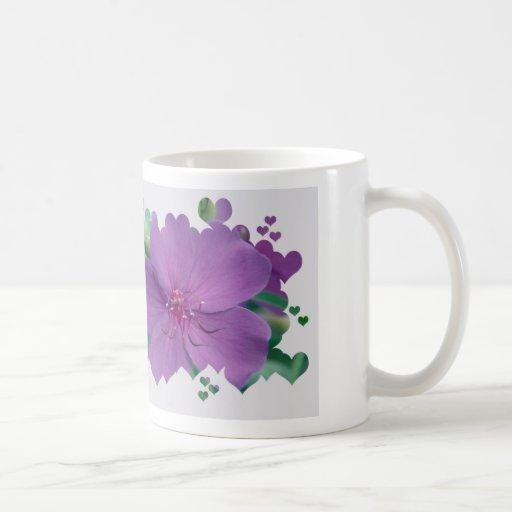Purple Flowers of Spring Coffee Mug