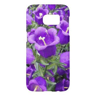 Purple flowers phone case