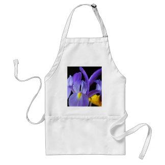 Purple Flowers Standard Apron