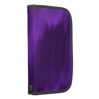 Purple folio smartphone folio planner