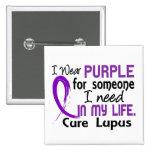 Purple For Someone I Need Lupus