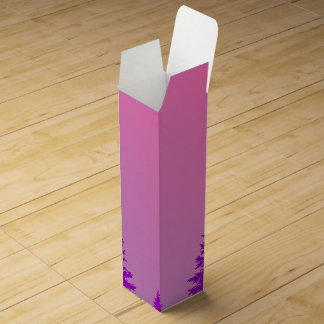 Purple Forest Wine Gift Box