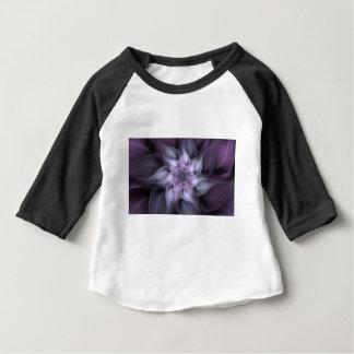 Purple Fractal Baby T-Shirt