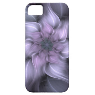 Purple Fractal Case For The iPhone 5