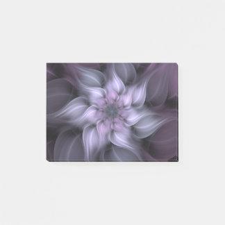 Purple Fractal Flower Post-it® Notes