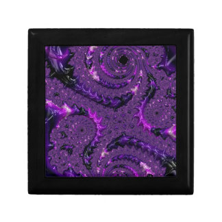 Purple Fractal Gift Box