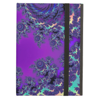 Purple Fractal Monogram Cases and Sleeves Case For iPad Air