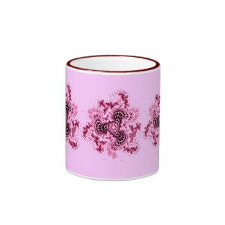Purple Fractal Ringer Mug