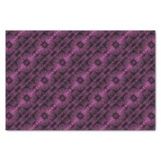 Purple Fractal Tissue Paper