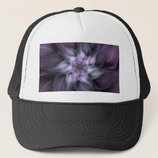 Purple Fractal Trucker Hat