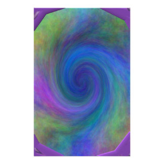 Purple framed spiral 2 t shirts gifts customized stationery