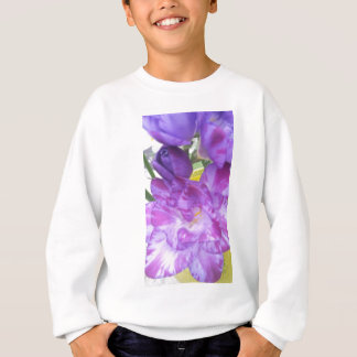 Purple Freesia Sweatshirt