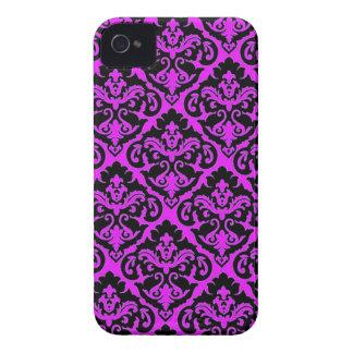 Purple French Damask Blackberry Case
