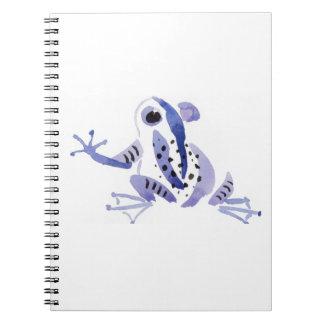 Purple Frog Note Books