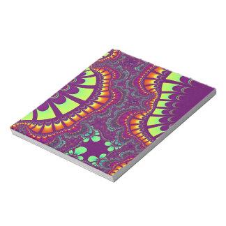 Purple Fruity Rainbow Remix Notepad