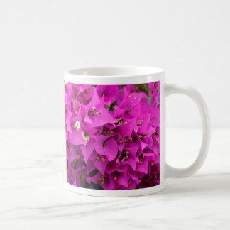 Purple Fuchsia Bougainvillea Background Coffee Mug