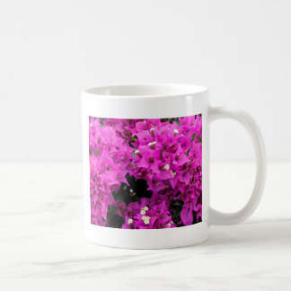 Purple Fuchsia Bougainvillea Background Coffee Mug