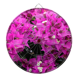 Purple Fuchsia Bougainvillea Background Dartboard