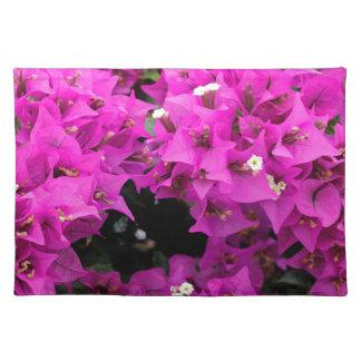 Purple Fuchsia Bougainvillea Background Placemat