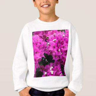 Purple Fuchsia Bougainvillea Background Sweatshirt