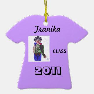 Purple Funky Class 2011 Ornament!