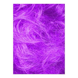 Purple Fur Card