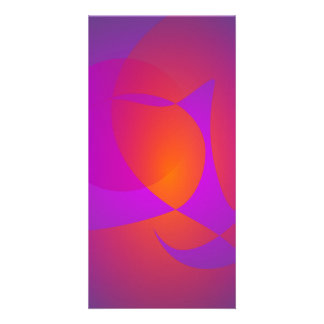 Purple Furnace Custom Photo Card