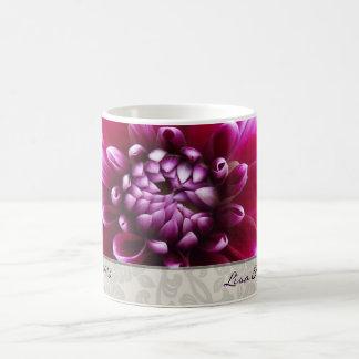 Purple Fuschia Dahlia Mug
